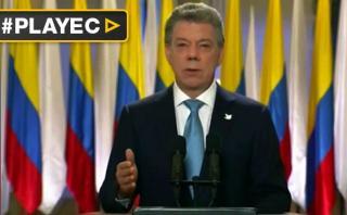 """Santos: Nuevo acuerdo con FARC """"es de todos los colombianos"""""""