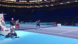 Andy Murray demostró impresionante talento en el fútbol-tenis