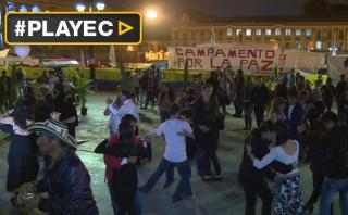 """Colombia celebró """"bailando por la paz"""" nuevo acuerdo con FARC"""