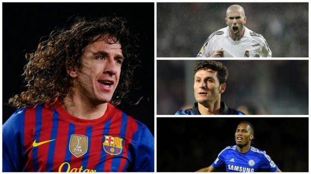 Carles Puyol y su once de los mejores rivales que enfrentó  GALERÍA ... 323ecb1e5ae7