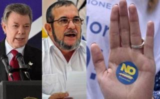 """Voceros del """"No"""" están """"inconformes"""" con nuevo acuerdo con FARC"""