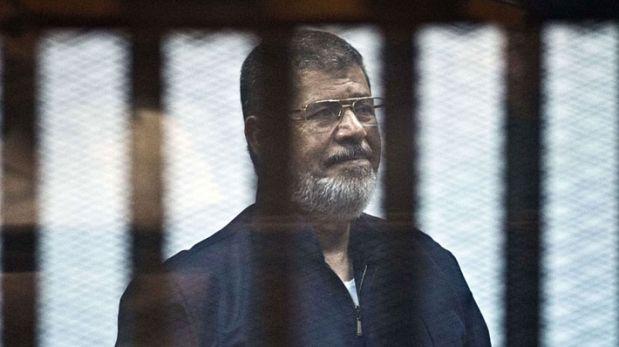 Egipto: Justicia anula pena de muerte a ex presidente Mursi