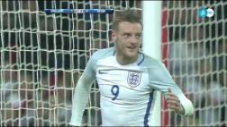 "Inglaterra: Vardy marcó y festejó con un ""Mannequin Challenge"""