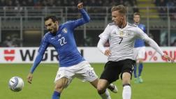 Italia empató 0-0 ante Alemania por amistoso internacional