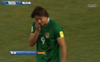 Así fue el gol de Bolivia que favorece a Perú en la tabla