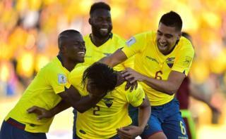 Ecuador goleó 3-0 a Venezuela en Quito por Eliminatorias 2018
