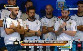 Lionel Messi anunció veto a la prensa argentina por esta razón