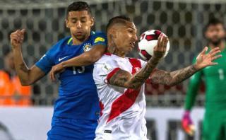 Perú perdió 2-0 ante Brasil por Eliminatorias Rusia 2018