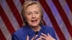 """Clinton: """"Hubo momentos en los que no quería salir de casa"""""""