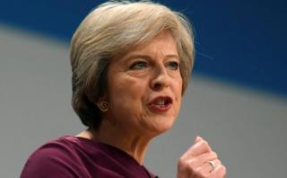 """May: Reino Unido está """"preparado"""" para iniciar Brexit en marzo"""