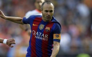 El golazo de Andrés Iniesta que enciende el duelo ante Málaga
