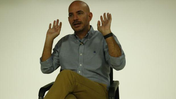 """""""Yo soy"""": Ricardo Morán volvió a sufrir una aparatosa caída"""