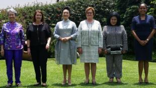 Nancy Lange recorrió Lima con esposas de líderes del APEC