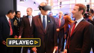 PPK descubrió la realidad virtual gracias a Mark Zuckerberg