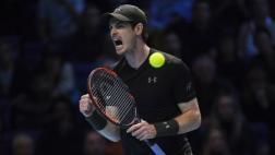 Andy Murray venció a Djokovic en final de Masters de Londres