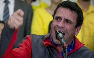 """Capriles: """"Maduro se ha burlado del papa Francisco"""""""