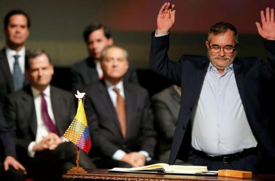 Así fue la firma del nuevo acuerdo entre Colombia y las FARC