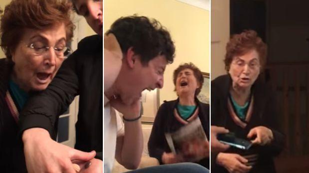 Facebook   Youtuber  graba las bromas que le hace a su abuela  VIDEO ... 3dedd2c9246