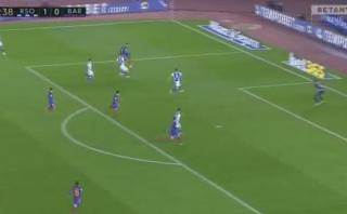 Messi marcó para Barcelona tras espectacular jugada de Neymar
