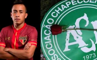 Facebook: Christian Cueva dedicó emotivo post a Chapecoense