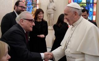 Martin Scorsese tuvo encuentro con el papa Francisco en Roma