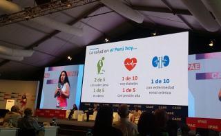 CADE 2016: Minsa y 4 pilares para fortalecer la salud en Perú