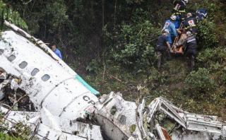 Chapecoense: Avión no tenía combustible al estrellarse