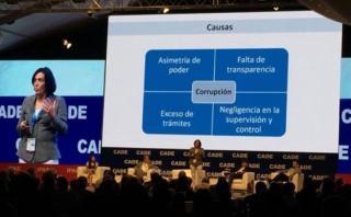 CADE 2016: Cuatro escenarios que propician la corrupción