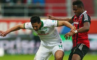 Con Pizarro: Werder Bremen ganó 2-1 a Ingolstadt en Bundesliga