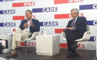 CADE: Así fue la ponencia del Ministro de Economía y Finanzas