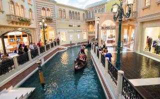 En este centro comercial te sentirás como en Venecia