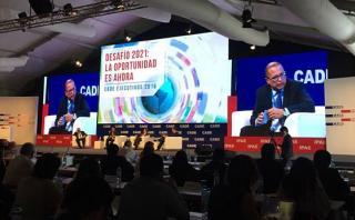 CADE: Tamayo pide pasar la página de cambios en Petroperú