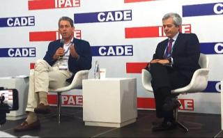 Thorne en CADE: Con Invierte.pe se ha redefinido el rol del MEF