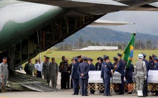 Chapecoense: Colombia despidió a las víctimas de la tragedia