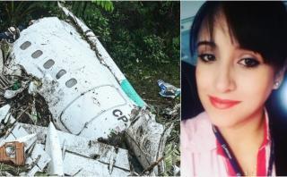 "Chapecoense: ""Estoy en shock"", afirma azafata que sobrevivió"