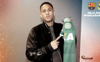 Neymar rindió homenaje a Chapecoense con esta fotografía