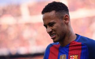 Neymar y la gran jugada ante Real Madrid que debió ser gol