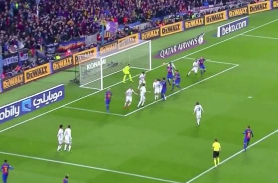 Barcelona: CUADRO x CUADRO del gol de Suárez ante Real Madrid