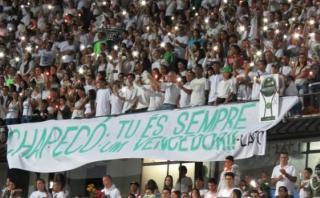 Atlético celebró el título de Chapecoense en Copa Sudamericana