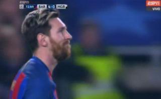 Lionel Messi: con esta 'palomita' pudo igualar el récord de CR7