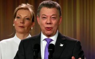 """Primera dama de Colombia: """"Paz costó sangre y lágrimas"""""""