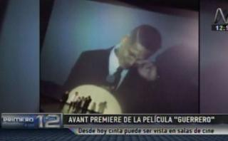 Paolo Guerrero lloró en el estreno de su película [VIDEO]