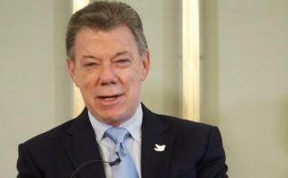 """Santos en Oslo: """"El Premio Nobel vino como caído del cielo"""""""