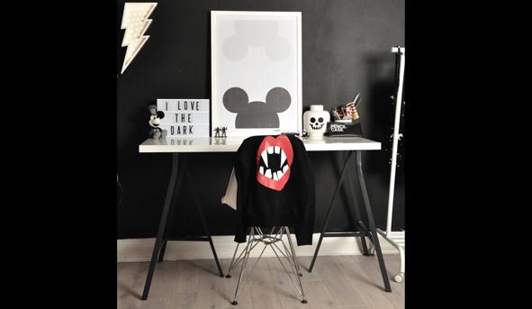 Inpírate con estos espacios infantiles con pinceladas de negro