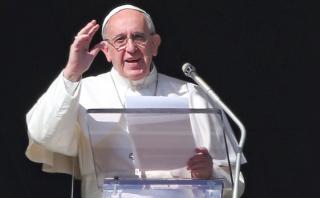 Papa compara tragedia de inmigrantes con el nacimiento de Jesús