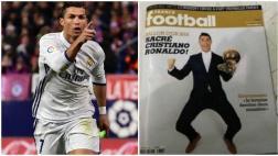 Cristiano y la supuesta portada que le da el Balón de Oro 2016