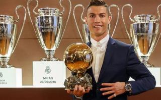 Balón de Oro 2016: Cristiano Ronaldo ganó su cuarto trofeo