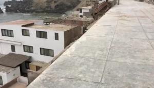 San Bartolo: muro cayó hace 6 meses y hasta hoy no es repuesto
