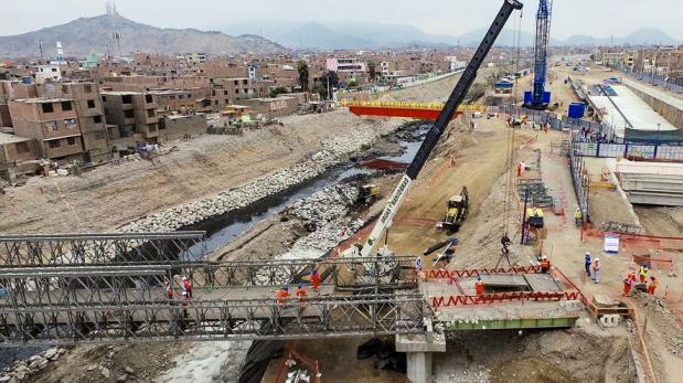 Puente Bella Unión: obras recién van al 40% según Contraloría