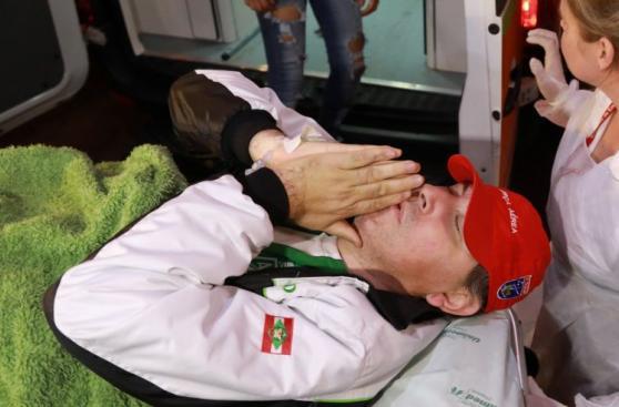 Chapecoense: Otros dos sobrevivientes llegaron a Brasil [FOTOS]